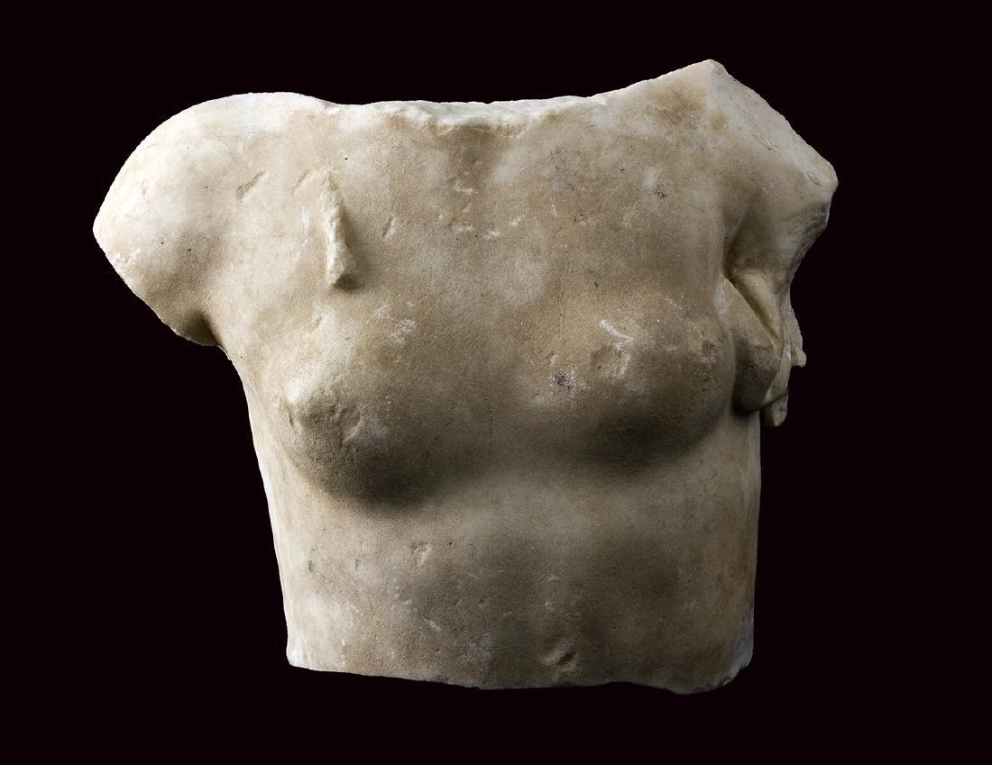 TORSO FEMMINILE  I secolo a.C. – I secolo d.C.