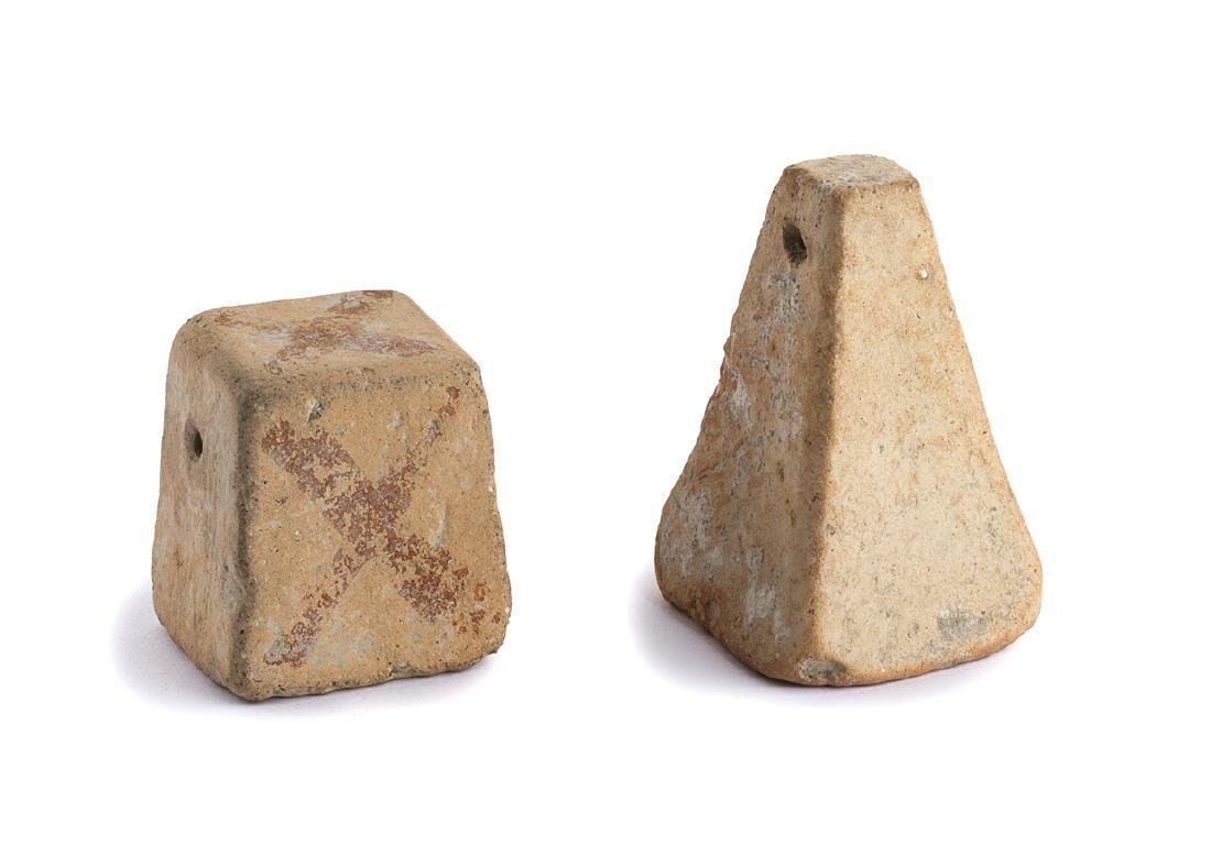 COPPIA DI PESI DA TELAIO IV – III secolo a.C.
