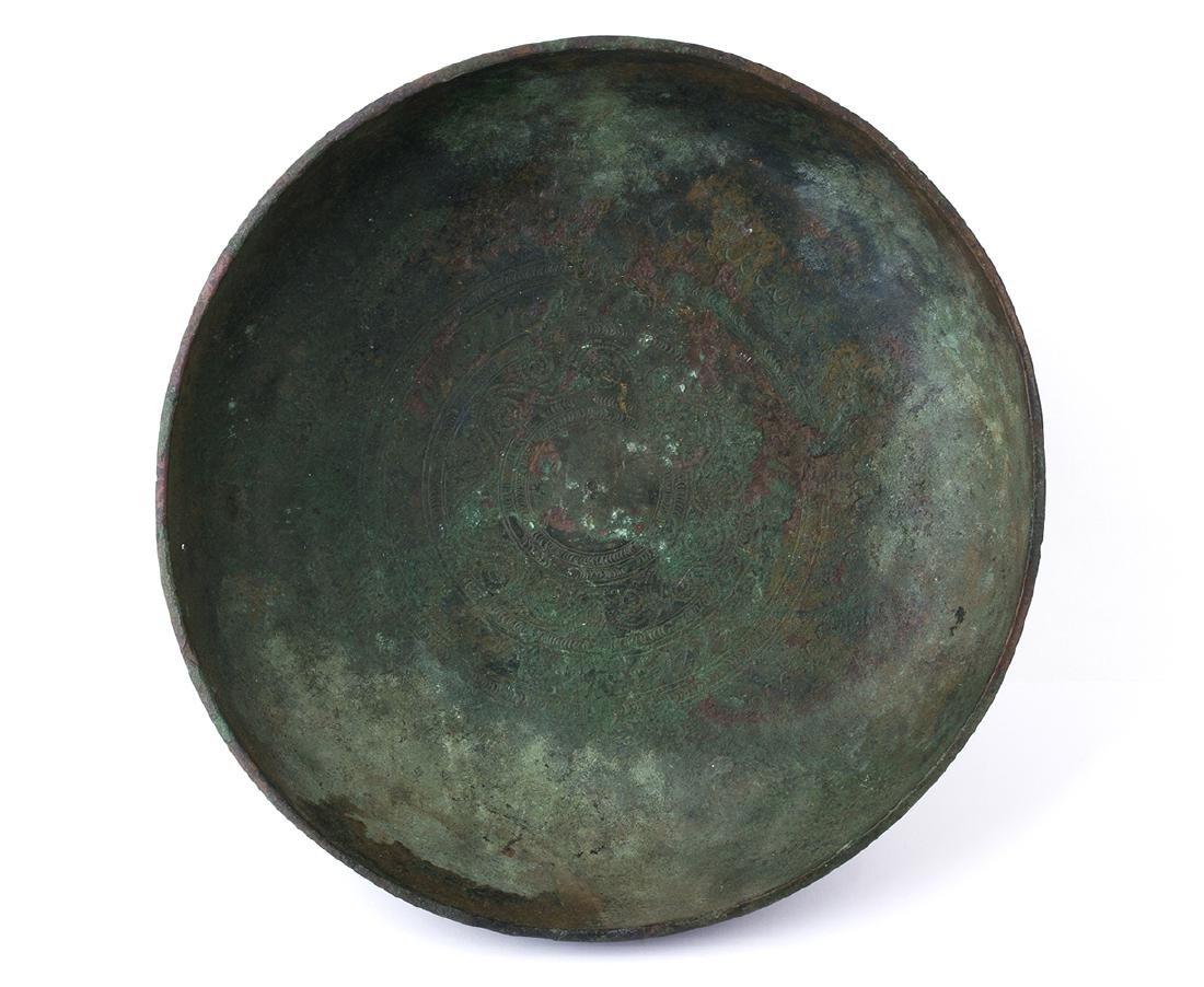 PHIALE ACHEMENIDE IN BRONZO Persia, V – IV secolo a.C. - 2