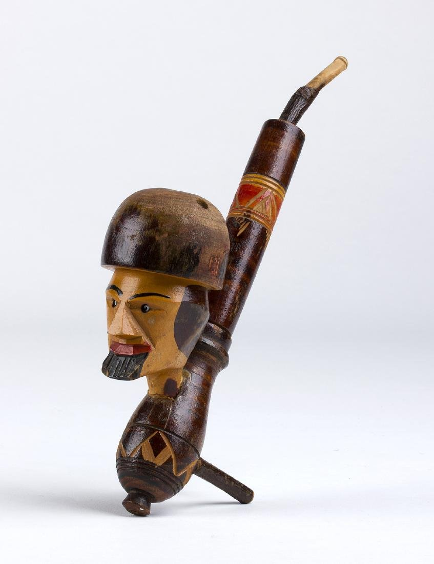 Wooden pipe; Germany, early 20th Century