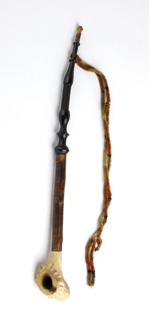 Bone pipe; Denmark, late 19th Century
