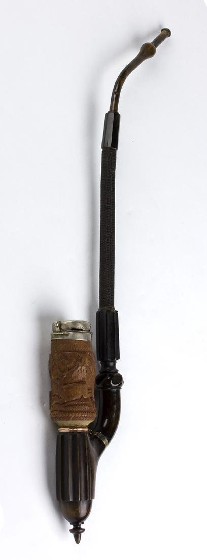 Wooden pipe; North Europe, 20th Century