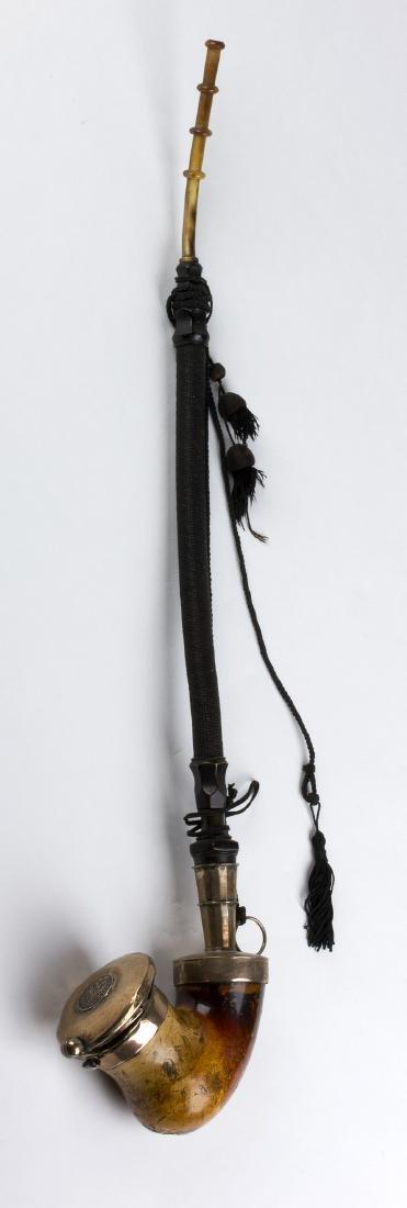 Meerschaum pipe; Austria, 19th Century