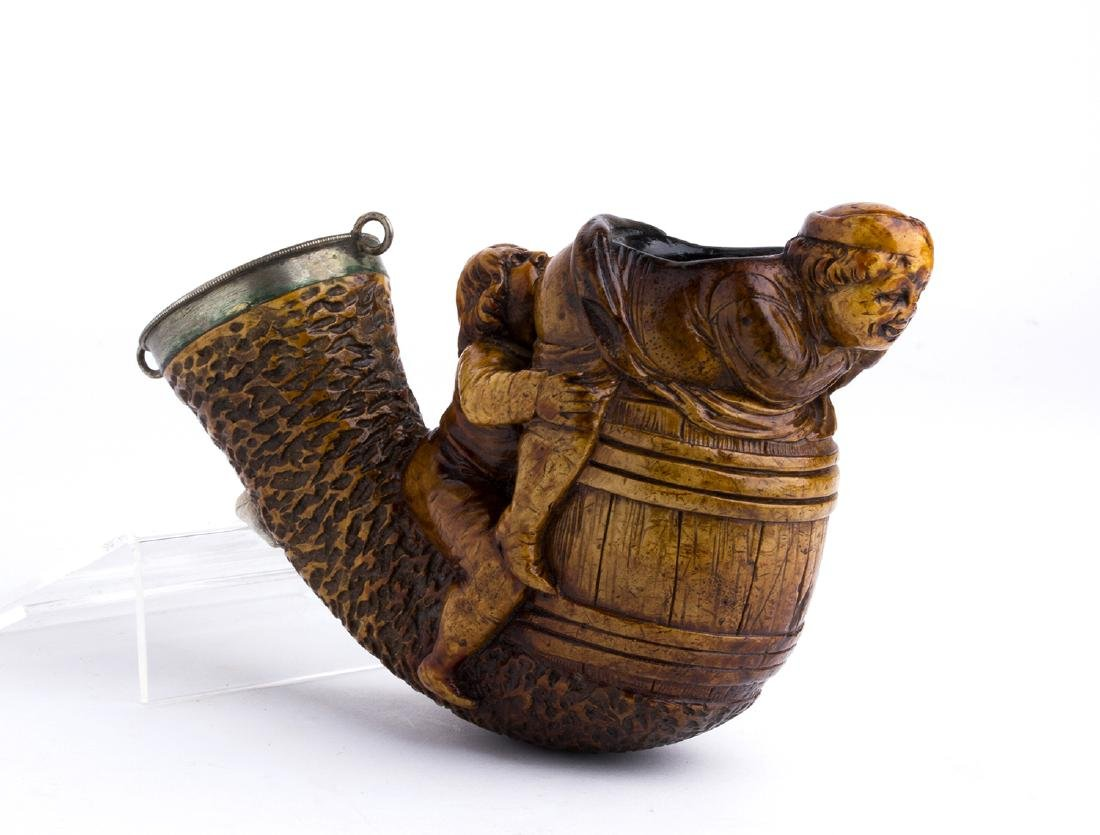Meerschaum bowl; England, late 19th early 20th Century