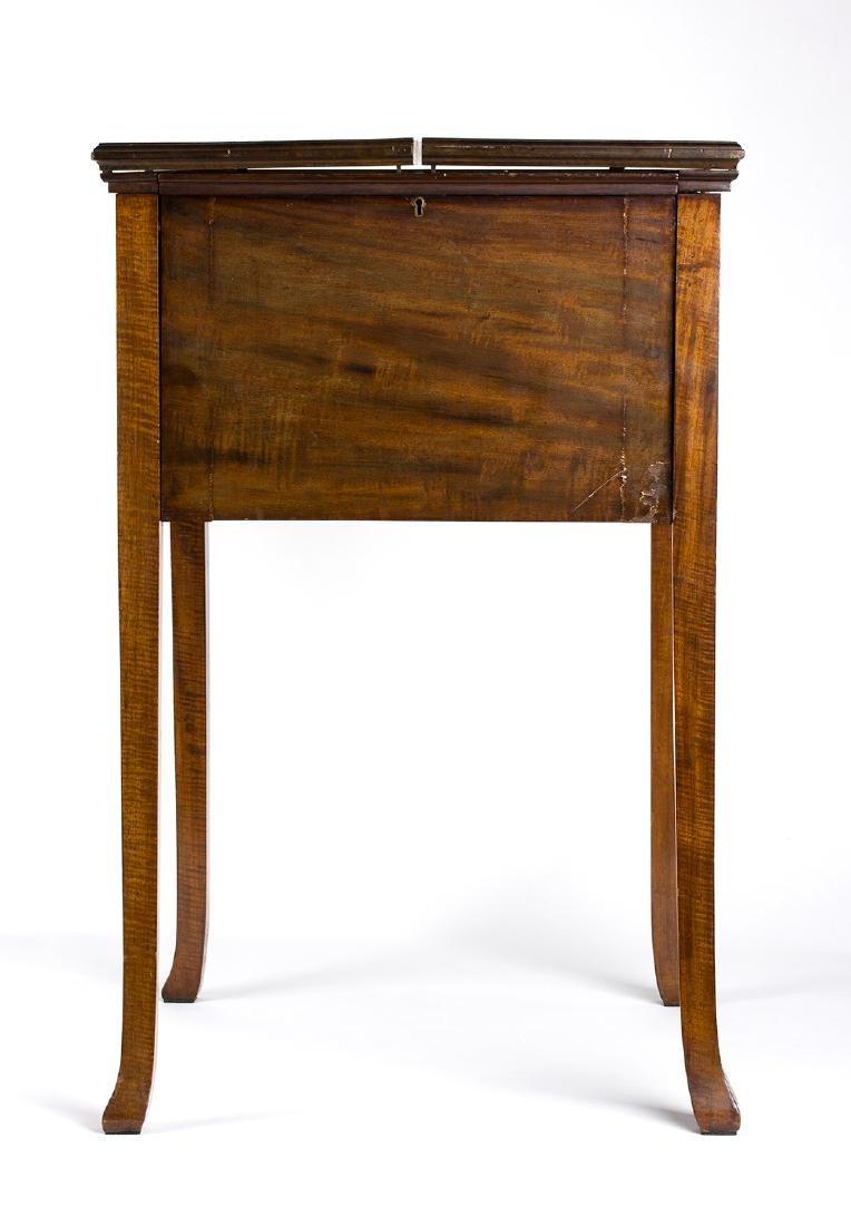Mahogany smoker's cabinet