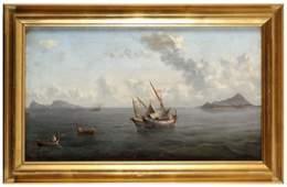 Marina con barche