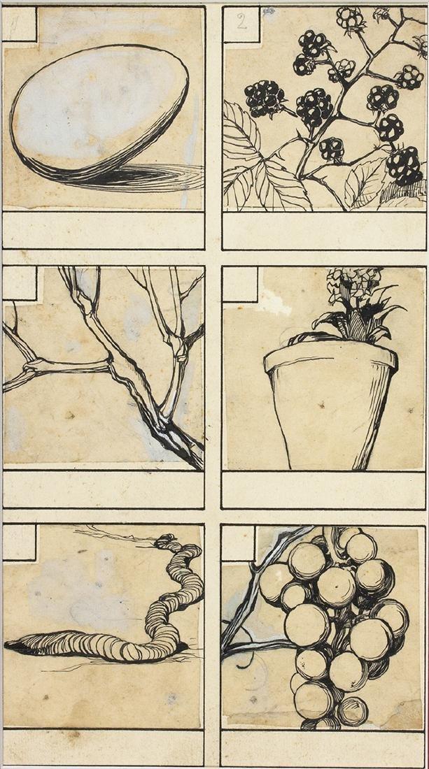 Six drawings