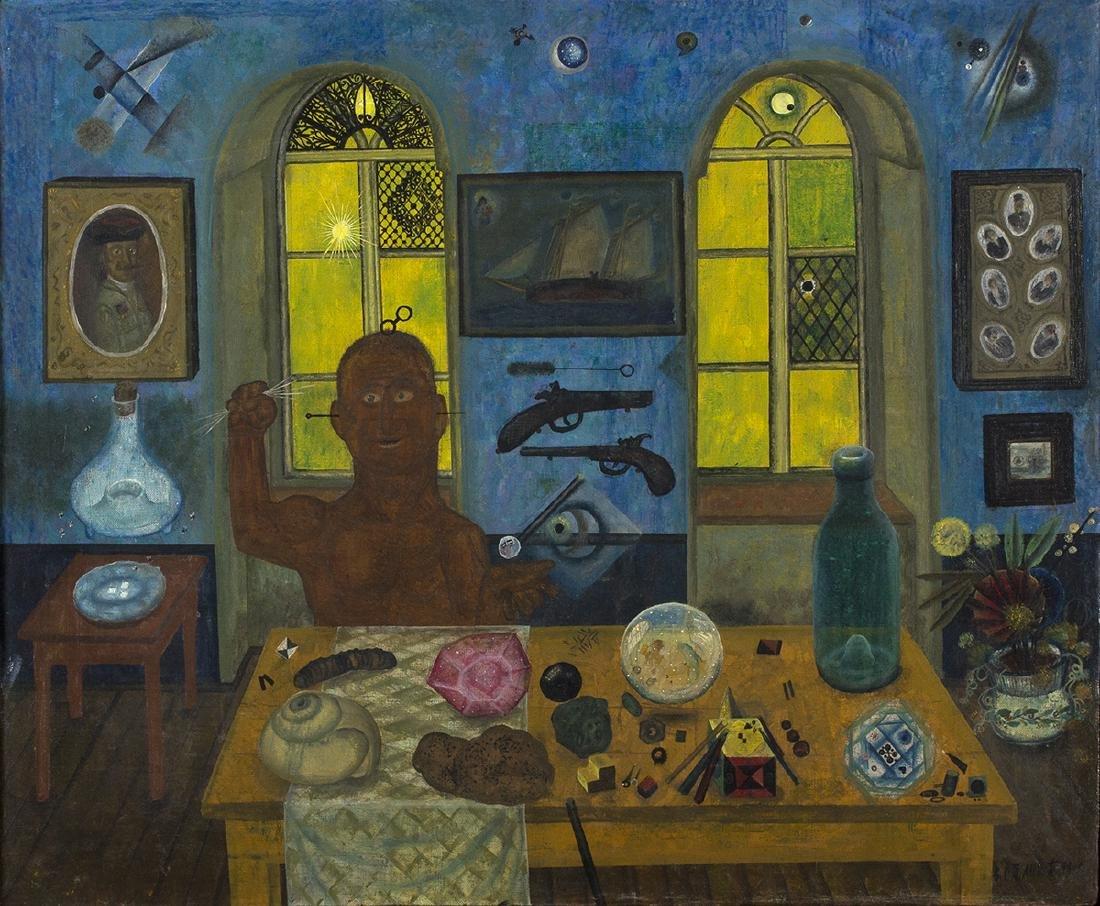 Surrealist interior, 1981