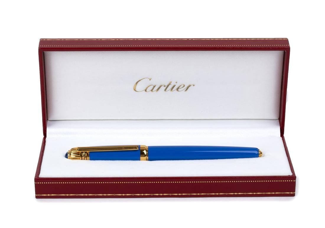 FOUNTAIN PEN PASHA DE CARTIER, LIMITED EDITION 1990,