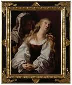 Flemish or dutch caravaggesque painter, first quarter