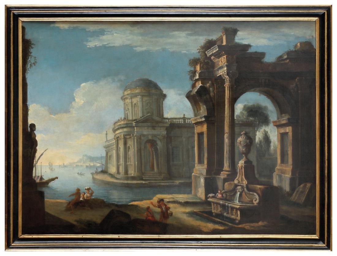 Antonio Joli (Modena, 1700 - Naples, 1777) -
