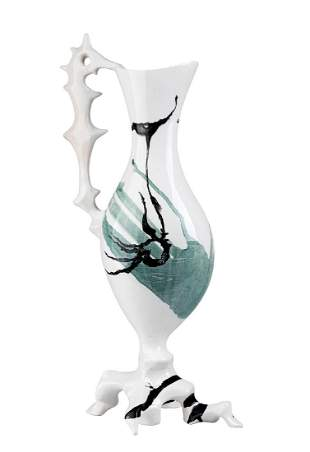 ANTONIA CAMPI - Vase decorated with abstract motifs and