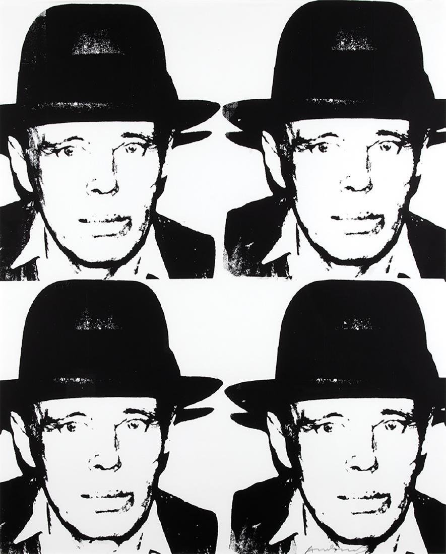 ANDY WARHOL - Joseph Beuys, 1980-83