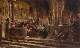 PABLO SALINAS - Interior of a church