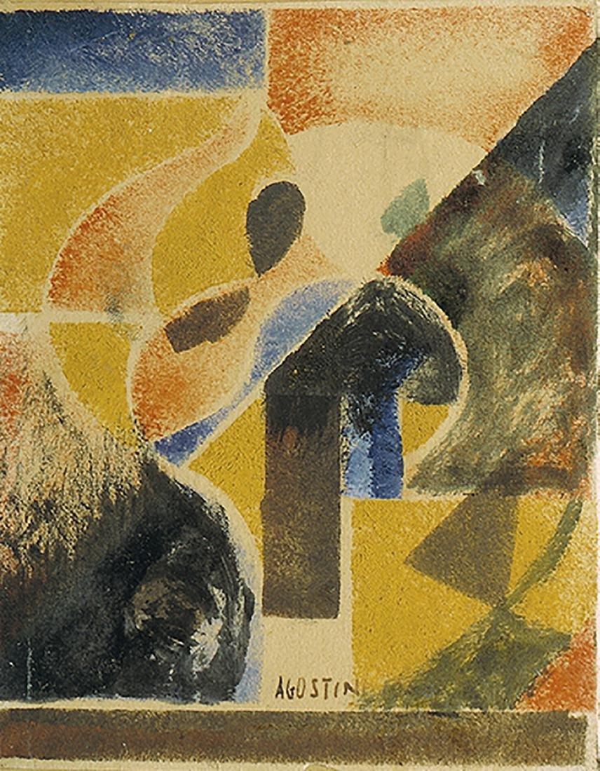 AGO (ANTONIO AGOSTINI) - Diagonal rhythms, 1925