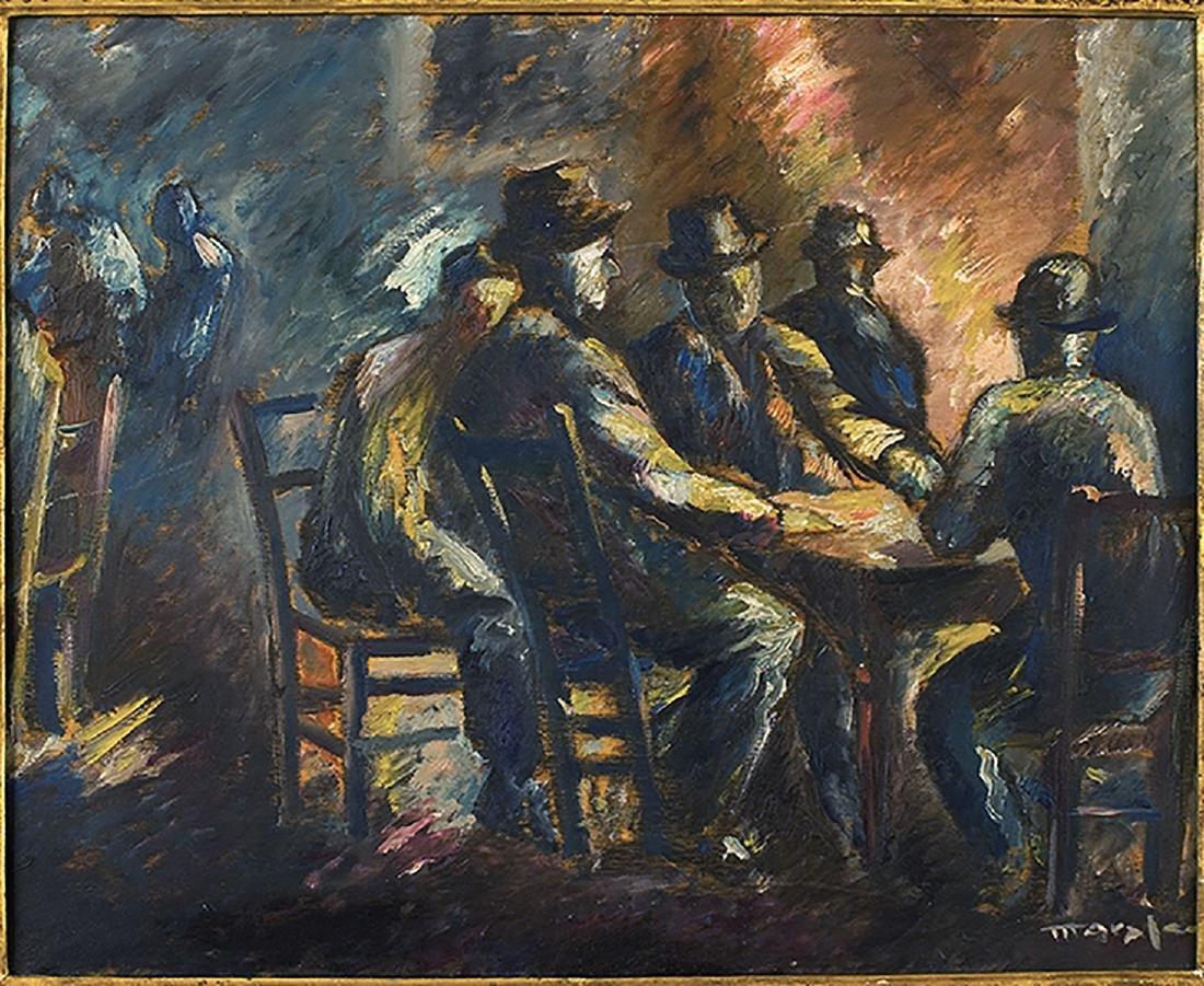 ANTONIO MARASCO - At the tavern, about 1913