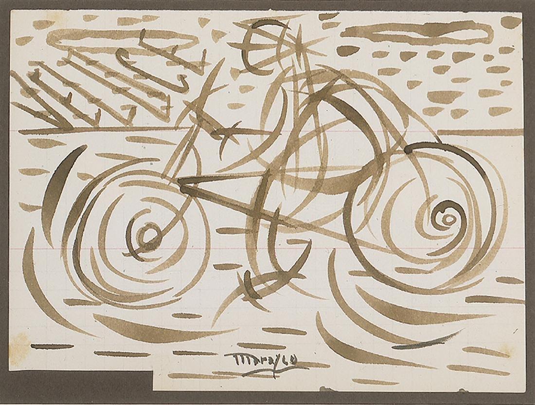 ANTONIO MARASCO - Cyclist, 1914