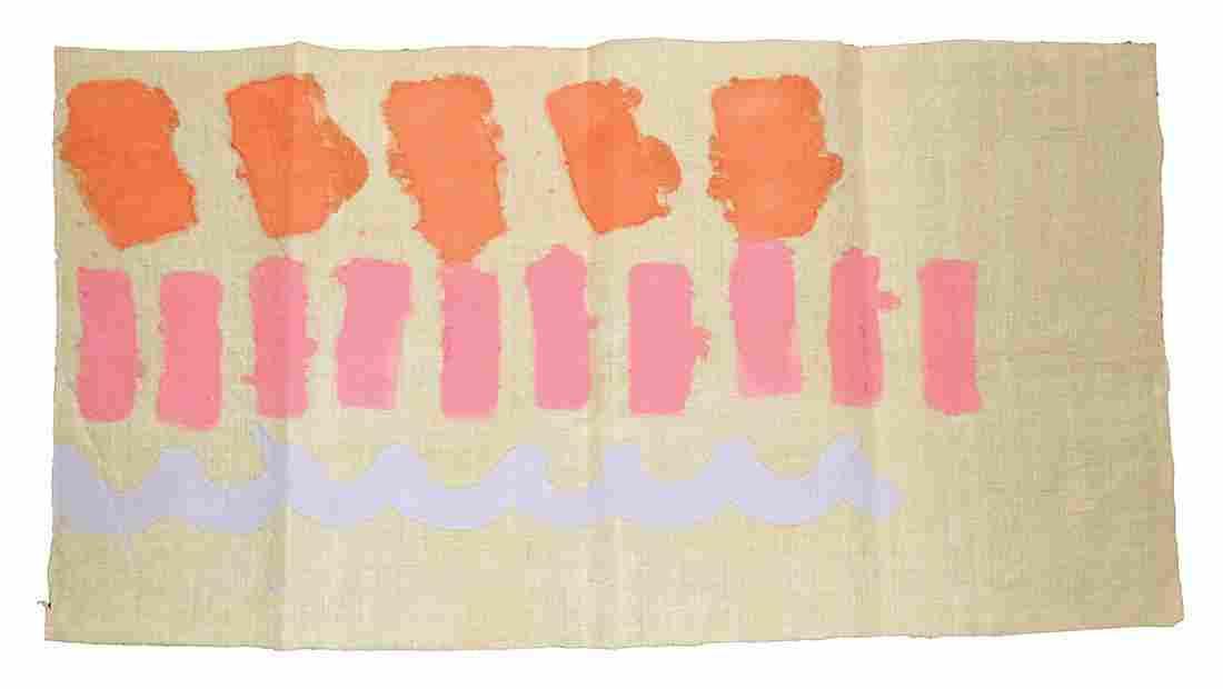 GIORGIO GRIFFA - Three signs, 1979