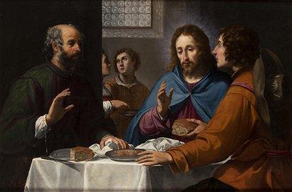 LORENZO LIPPI (Florence, 1606 - 1664) - Supper at