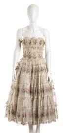 BATTILOCCHI COTTON DRESS 1955