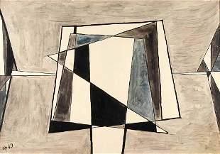 ACHILLE PERILLI - Untitled, 1949