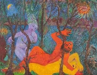 ANTONIETTA RAPHAÃ‹L MAFAI - Er and Tamar, about 1967