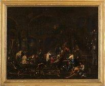 ALESSANDRO MAGNASCO (Genoa, 1667 - 1749) - Interior