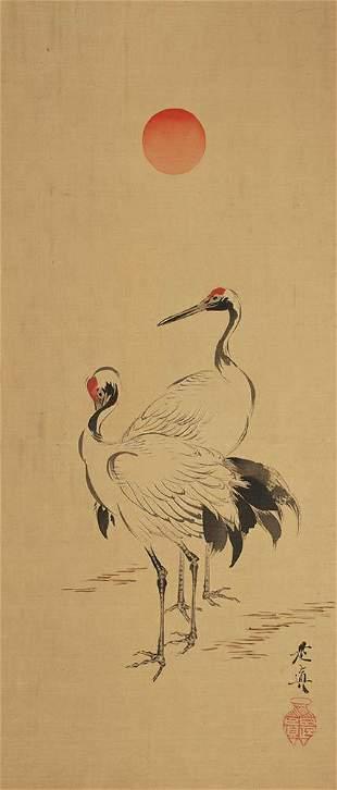 Shibata Zeshin (1807-1891) A pair of