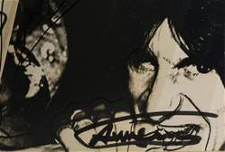 """Rolling Stones, """"Love You Live"""" autographed by Andy"""