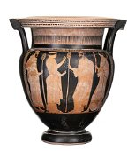 ATTIC RED-FIGURE COLUMN KRATER Attribuited to