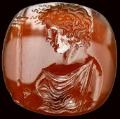 A very fine and large greek late hellenistic carnelian
