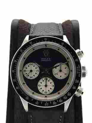 "Rolex Daytona ""Paul Newman"" 6240 wide t swiss t"