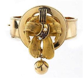 Borbonic rigid bracelet