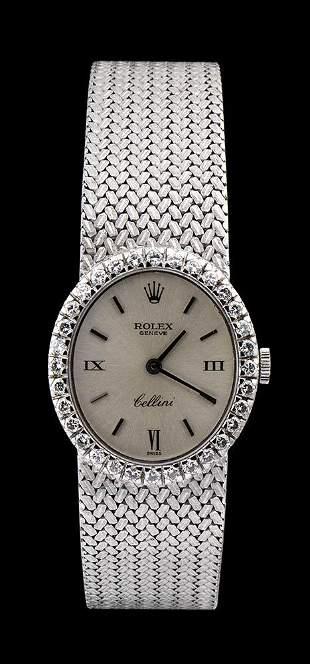 ROLEX Cellini Lady, gold wristwatch