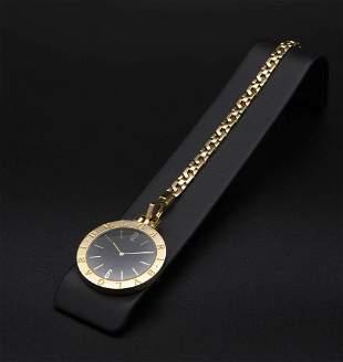 BVLGARI, gold pocket watch