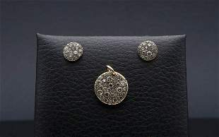 Earrings and charm, manifacture POMELLATO Milan