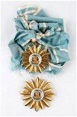 Argentina, Order of St. Martin, Grand cross set