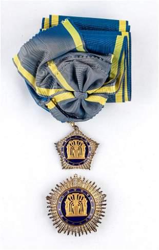 Egypt, Order of the Nile, Grand Cross set