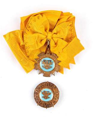 MEXICO, ORDER OF THE AZTEC EAGLE