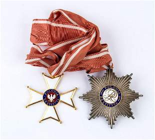 Poland. Order of Polonia Restituta. Officer's Set.
