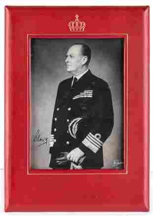 OLAV V, King of Norway - Alexander Edward Christian