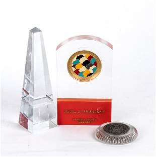 Various awards to Maria Pia Fanfani (Pavia, 29 November