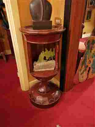 Set of six French bedside tables