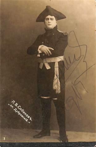 Leonid Vital'evic Sobinov (Jaroslavl' 1872 – Riga