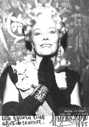 Magda Olivero (Saluzzo 1910 – Milano 2014)