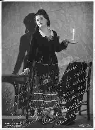 Amelia Armolli (1910 - ?)