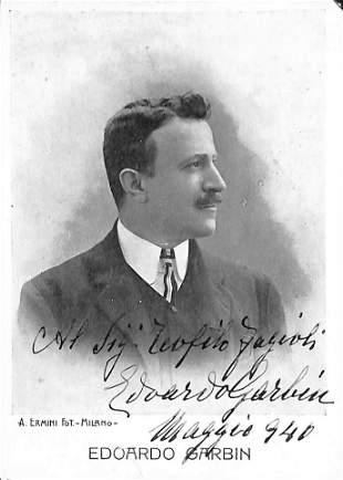 Edoardo Garbin (Padova 1865 – Brescia 1943)