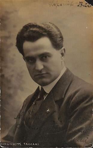 Giuseppe Taccani (Milano 1885 – ivi 1959)