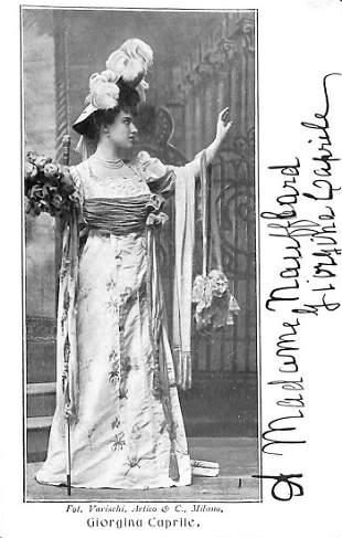 Giorgina Caprile (Firenze 1877 – Roma 1951)