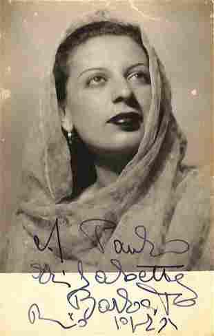 Elisabetta Barbato (Barletta 1921 – Roma 2014)